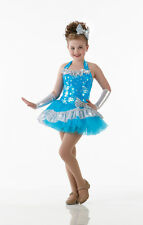 SHINNING STAR Ruffled Tutu Dress Dancewear Dance Costume SIZE
