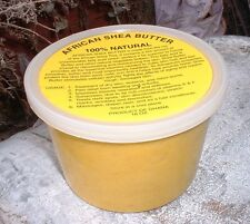 Unrefined Shea Butter YELLOW or WHITE 100% Natural Karite Tree 16 oz 1 lb