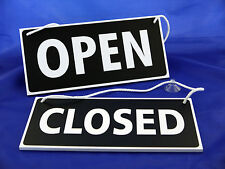 """Open / Closed Sign - Hanging Sign - Shop Window / Door Sign """"LARGE"""""""