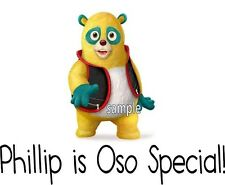 Special Agent Oso Personalized T-shirt