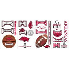 COLLEGIATE Applique Stickers ~ LSU ~ TEXAS ~ FLORIDA ~ AUBURN ~ ALABAMA ~