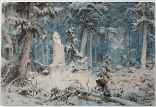 Snowy Forest Andreas Achenbach 1835 Art Photo/Poster Repro Print Many Sizes A