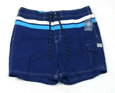 Chaps Navy Blue Board Shorts Swim Trunks Boardshorts Brief Liner Mens NWT