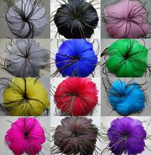 Free shipping 1 pcs Beautiful  feather flower for headdress ,Select color