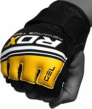 Auth RDX Leather MMA UFC Grappling Gloves Fight Boxing Punch Bag Martial Arts RD