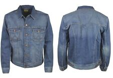 BRAND NEW MENS WRANGLER MIDSTONE DENIM JACKET *SIZES: S TO XXXL*