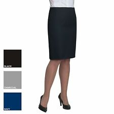 New BROOK TAVERNER Womens Ladies Sigma Work Straight Skirt 3 Colours Size 8-20