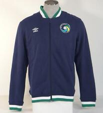 Umbro New York Cosmos Zip Front Lined Sweat Track Jacket Mens NWT