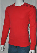 Armani Exchange T shirt Thermal Muscle Fit Tee Red Shirt Thermal Men Tops