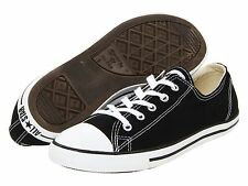 NEW WOMEN CONVERSE CT AS DAINTY OX BLACK