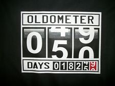 Funny Tshirt Oldometer 49 To 50 Years Age Old Birthday Gift Generation Humor