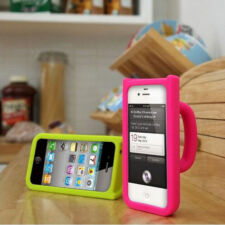 Soft 3D Mug Cup Silicone Skin Back Phone Case Protector Cover For iphone 4 4S