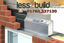 Catnic / IG Steel Lintel L1/S 100 to suit 90-105 Cavity Select length