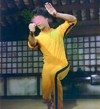 Vintage Bruce Lee Yellow Jumpsuit Classic Game Of Death Costume Kung Fu Uniform