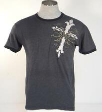 Xtreme Couture Vintage Tattoo Graphics Short Sleeve Tee T Shirt Mens NEW