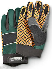 OccuNomix® Material Box Handling Synthetic Leather Work Gloves, Green # 4824-