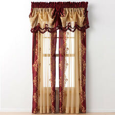 Danbury™ Embroidered Panels & Valances By Regal Home Collections Inc.®