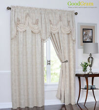 Portofino™ Clipped Jacquard Panels & Valances By Regal Home Collections Inc.®