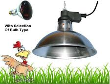 Large Intelec Traditional Infra Red Heat Lamp Poultry Lambs Hatching Egg Brooder