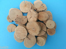 Chunky Wooden DRIFTWOOD Discs, Other Choices Available Sticks & Pieces CRAFT