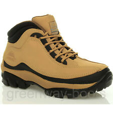 MENS WOMENS LADIES SAFETY TRAINERS SHOES BOOTS WORK STEEL TOE CAP ANKLE LEATHER