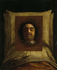 A4+ Size Print:Portrait Peter Great On His Death Bed #jwnh3752-1218