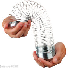CLASSIC RETRO METAL SLINKY SLINKEY SPRINGY MAGIC COIL WALKING TOY 4 VARIATIONS