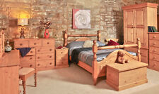 PINE BEDROOM FURNITURE | CHEST OF DRAWERS | WARDROBES | HANDMADE TO ORDER