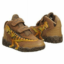 DINOSOLES T-Rex Trainers Shoes Boots Child Size UK 8-1 Brown Dinosaur Dinorama