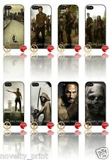 ★ THE WALKING DEAD ★ APPLE IPHONE 5  MOBILE PHONE HARD CASE COVER (SERIES 1/2/3)