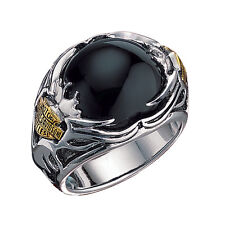 Harley-Davidson Men's Silver Tribal Ring - NEW