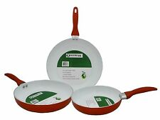 Eco Friendly Ceramic Nonstick Fry Pan Skillet Cookware. Avail. in 3 Sizes