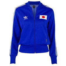 ADIDAS ORIGINALS WOMENS TRACK TOP SIZE 10 12 BLUE JAPAN WORLD CUP NIPPON JACKET