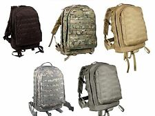 MOLLE II 3 Day Assault Packs- Backpack-MultiCam, Black, Coyote, ACU, Foliage