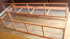 RABBIT GUINEA PIG RUN RUNS HUTCHES CAGE POULTRY KITTENS HOUSE FOLDING LARGE