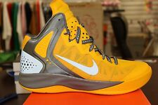 Nike Zoom Hyperenforcer PE Yellow Grey Sizes 10.5 or 11 Brand New In Box