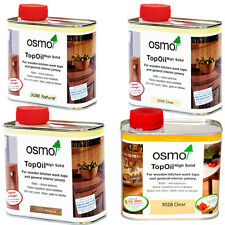 Osmo Top Oil 500ml. 3058 (Clear), 3068 (Natural), 3061 (Acacia)