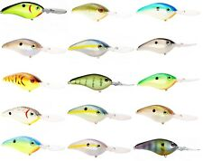 STRIKE KING PRO-MODEL SERIES 6XD CRANKBAITS various colors
