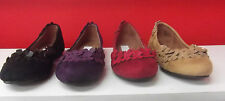 Ladies Shoes Step On Air Minx Ballet Flats Black Red Purple Sand New Size 6-11
