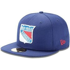 NEW ERA 5950 NEW YORK RANGERS Team Navy National Hockey League NHL Fitted Cap