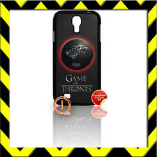 ★ GAME OF THRONES ★ COVER FOR SAMSUNG GALAXY S4 IV/I9500 PHONE CASE STARK WOLF#1