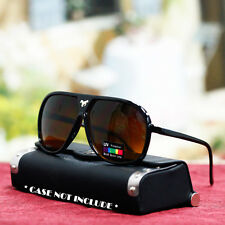 New Mens Fashion Sunglasses Sport Style Driving UV Blue Buster Brown Lens Shades