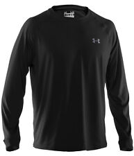 Under Armour Men's Heatgear 2012 Longsleeve Loose Fit Tech T Shirt BLACK 1231797