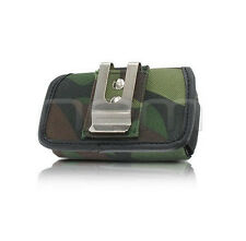 Camo Rugged Heavy Duty Holder Case Cover Pouch Clip for Sprint Net10 T-Mobile