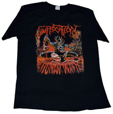 SUFFOCATION SHIRT HUMAN WASTE CANNIBAL CORPSE DECAPITATED HATE ETERNAL SKINLESS
