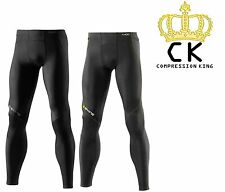Skins Compression A400 Mens Long Tights * BRAND NEW + 2 Colours + FREE POSTAGE *