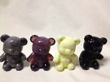 BOYD GLASS FUZZY TEDDY BEAR-CHOICE OF COLORS