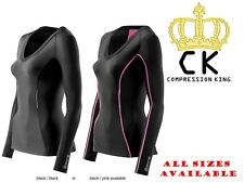 Skins Compression A200 Womens Long Sleeve Top  - BRAND NEW IN BOX + FREE POSTAGE
