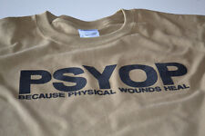PSYOP T-shirt pyschological spec black ops army military usmc funny new mens tee