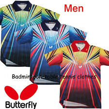 Free shipping 2013 new Butterfly men's Table tennis badminton T-shirt CC600